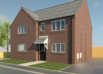 Thumbnail 2 bedroom semi-detached house for sale in Hornbeam Close, Ruskington, Sleaford