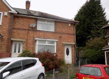 Thumbnail 2 bedroom town house for sale in Ensdon Grove, Kingstanding, Birmingham