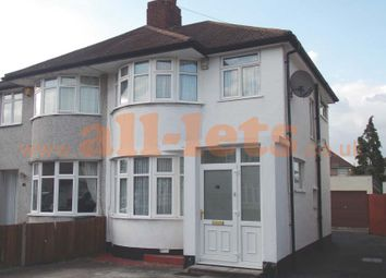 Thumbnail 3 bed semi-detached house to rent in Sheridan Road, London