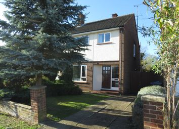 Thumbnail 3 bed semi-detached house for sale in Wellingham Avenue, Hitchin