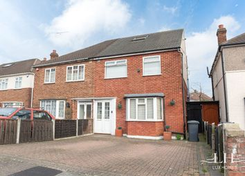 Thumbnail 4 bed semi-detached house for sale in Chalgrove Crescent, Clayhall, Ilford