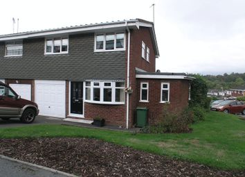 Thumbnail 4 bed semi-detached house for sale in Hunnington Crescent, Halesowen