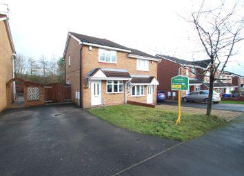Thumbnail 2 bedroom semi-detached house to rent in Copplestone Grove, Longton, Stoke-On-Trent
