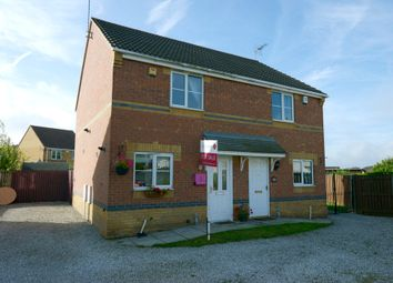 Thumbnail 2 bed semi-detached house for sale in Lings Crescent, North Wingfield, Chesterfield