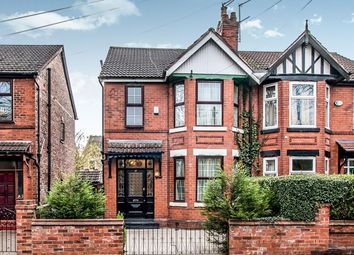 Thumbnail 3 bed semi-detached house for sale in Old Hall Lane, West Point/ Levenshulme, Manchester