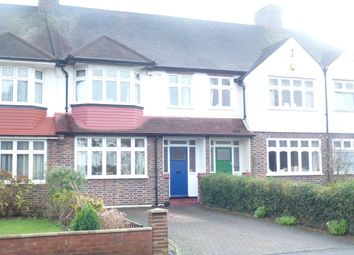 Thumbnail 3 bed terraced house to rent in Whytecliffe Road North, Purley