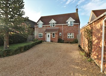 Thumbnail 4 bed detached house to rent in Merton Road, Watton