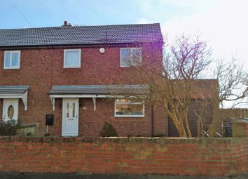 Thumbnail 2 bedroom semi-detached house to rent in Stakeford Crescent, Stakeford, Choppington