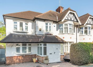 Thumbnail 5 bed terraced house to rent in Lyndhurst Garden, Finchley