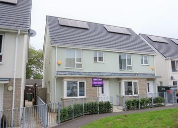Thumbnail 3 bedroom semi-detached house for sale in Yellowmead Road, Plymouth