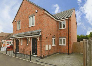 Thumbnail 3 bed semi-detached house to rent in Derbyshire Lane, Hucknall, Nottinghamshire