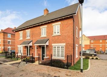 Thumbnail 2 bed end terrace house for sale in Saunders Field, Kempston, Bedford