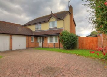 Thumbnail 4 bedroom detached house for sale in Woodleigh Road, Coventry