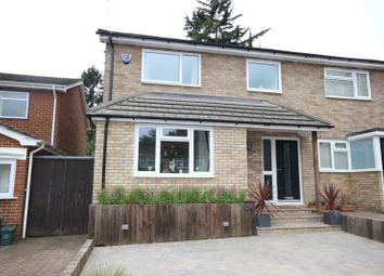 Thumbnail 3 bed semi-detached house for sale in Aplins Close, Harpenden, Herts
