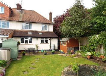 Thumbnail 3 bed semi-detached house for sale in Stockingstone Road, Luton, Bedfordshire