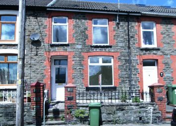 Thumbnail 3 bed terraced house to rent in Aberdare Road, Abercynon