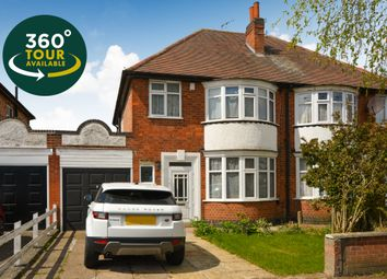 Thumbnail 3 bed semi-detached house for sale in Aberdale Road, West Knighton, Leicester