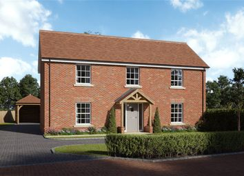 Thumbnail 4 bed detached house for sale in Beadon Meadow, Barton Stacey, Winchester, Hampshire