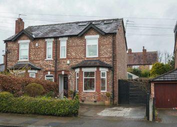 Thumbnail 5 bedroom semi-detached house for sale in Hazel Road, Altrincham