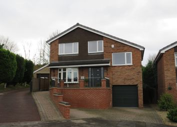 Thumbnail 4 bed detached house for sale in Bradwell Close, Mickleover, Derby
