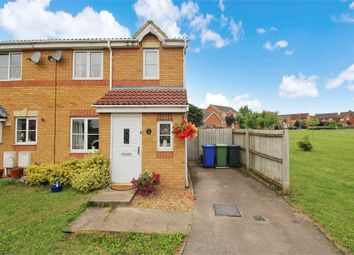 Thumbnail 3 bed end terrace house for sale in Moors Close, Deanshanger, Milton Keynes, Northamptonshire