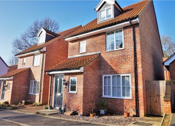 Thumbnail 4 bed semi-detached house for sale in Waterloo Close, Thetford