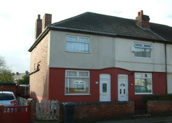Thumbnail 3 bed end terrace house to rent in Victoria Road, Doncaster