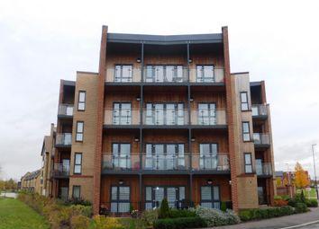Thumbnail 2 bed flat to rent in Atlas Way, Oakgrove, Milton Keynes