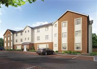 Thumbnail 2 bed flat for sale in Cleadon Vale, King George Road, South Shields