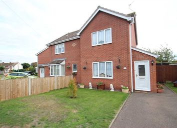 Thumbnail 2 bed semi-detached house for sale in Norman Close, St. Osyth, Clacton-On-Sea