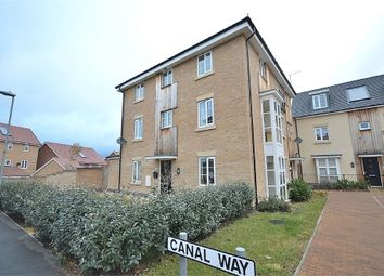 Thumbnail 4 bed semi-detached house for sale in Canal Way, Pineham Lock, Northampton