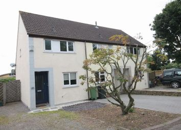 Thumbnail 2 bed semi-detached house to rent in Hollybush Close, Badminton, Acton Turville