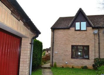 Thumbnail 2 bed semi-detached house for sale in Sentinel Road, West Hunsbury, Northampton