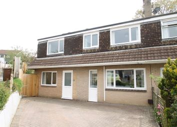 Thumbnail 4 bed semi-detached house for sale in Priory Close, Ivybridge