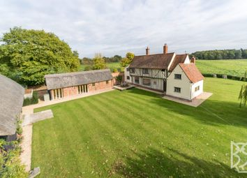 Thumbnail 4 bed detached house for sale in Stoke-By-Nayland, Wick Road, Colchester