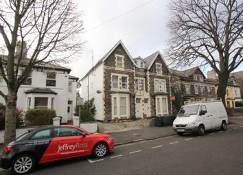 Thumbnail 3 bed flat to rent in The Walk, Roath, Cardiff