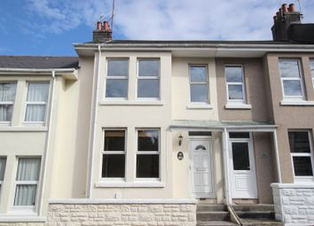 Thumbnail 3 bed terraced house to rent in Durban Road, Peverell, Plymouth