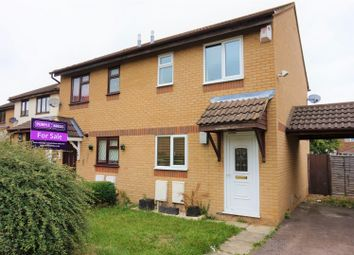 Thumbnail 2 bed semi-detached house for sale in Kidd Close, Crownhill