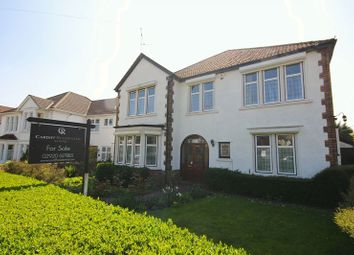 Thumbnail 5 bed detached house for sale in St. Michaels Road, Llandaff, Cardiff