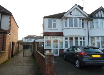 Thumbnail 4 bedroom semi-detached house to rent in Conway Crescent, Perivale