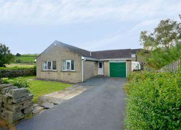 Thumbnail 2 bed detached bungalow for sale in Cinderhills Road, Holmfirth, West Yorkshire
