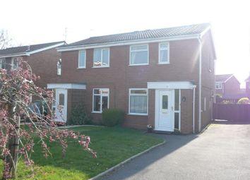 Thumbnail 2 bed semi-detached house to rent in Levington Close, Perton, Wolverhampton