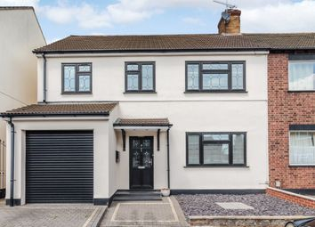 Thumbnail 4 bed semi-detached house for sale in Longwood Close, Upminster, London