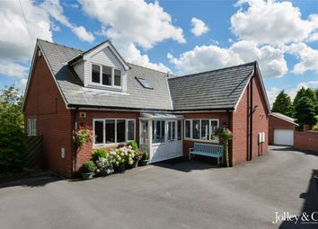 Thumbnail 5 bed detached bungalow for sale in Kings Road, Hazel Grove, Stockport, Cheshire