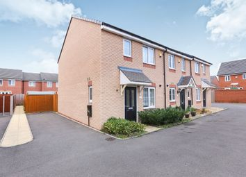 Thumbnail 3 bed end terrace house for sale in Gough Close, Wards Bridge Gardens, Wednesfield, Wolverhampton