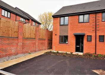 Thumbnail 3 bed end terrace house to rent in Park View Road, Salford