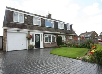 Thumbnail 5 bed semi-detached house for sale in Carlbury Avenue, Acklam, Middlesbrough