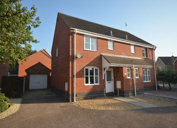 Thumbnail 3 bed semi-detached house for sale in Pym Close, Thorpe St. Andrew, Norwich