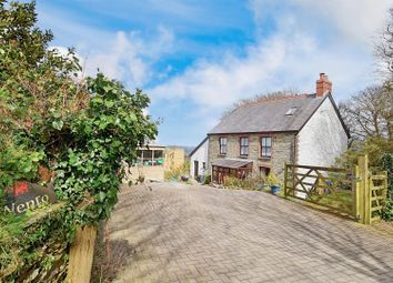 Thumbnail 3 bed detached house for sale in Rhoshill, Cardigan