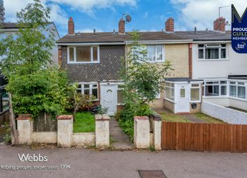 Thumbnail 3 bed terraced house to rent in Millfield Avenue, Bloxwich, Walsall